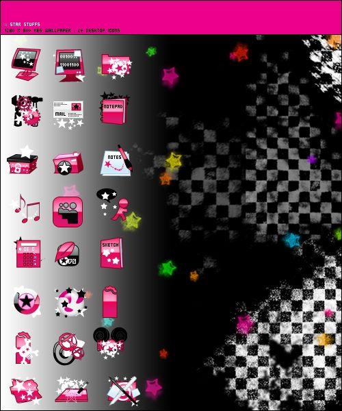 star stuffs desktop theme by rikkimusmaximus