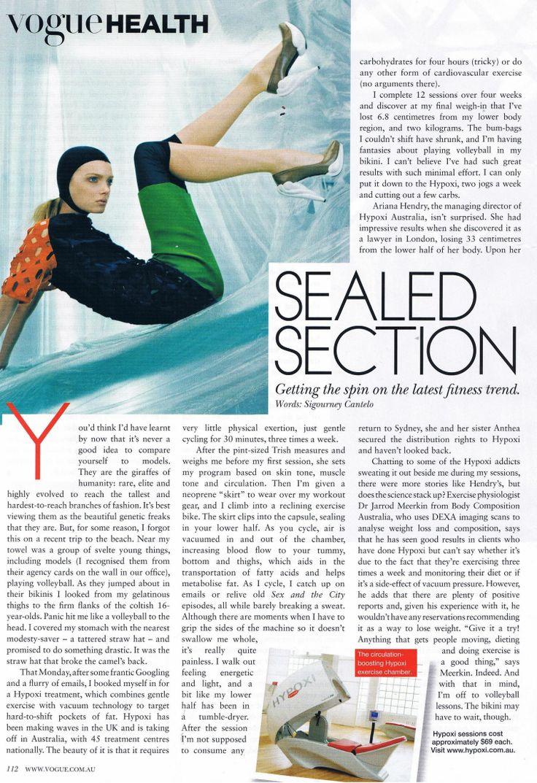 HYPOXI in Vogue!