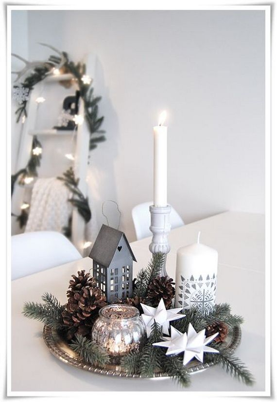Elegant New Years Eve Candle