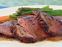 Traditional roast beef