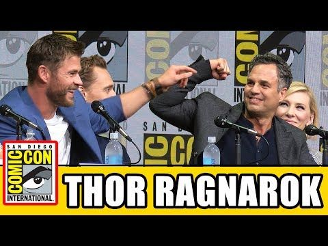 THOR RAGNAROK Comic Con Panel News & Highlights - YouTube