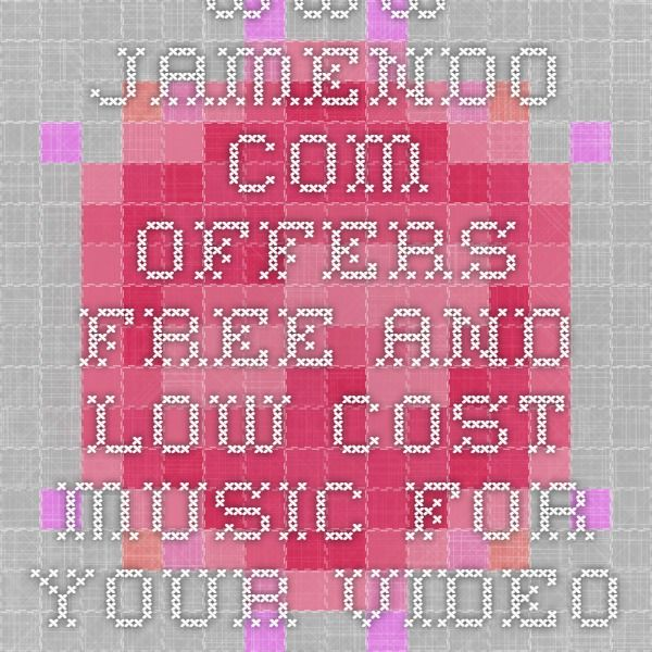 www.jamendo.com offers free and low-cost music for your video edits.