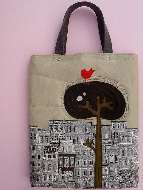 Un joli Tote Bag à réaliser et à offrir