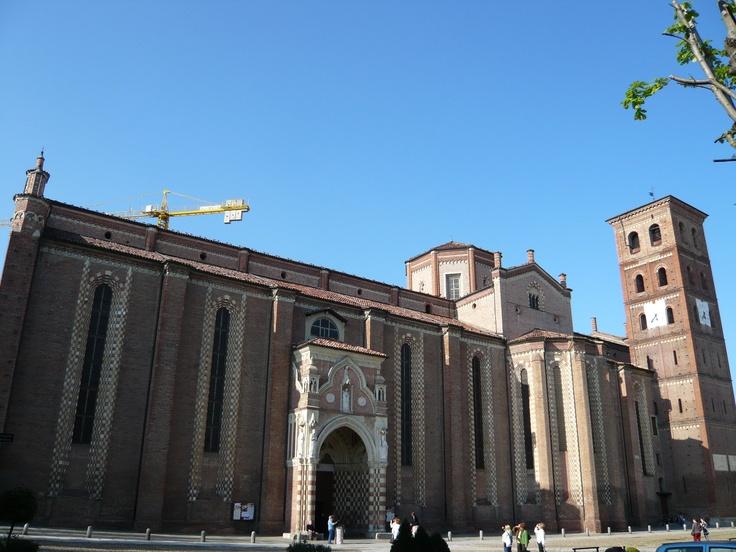 Asti, the Cathedral  Asti, la Cattedrale