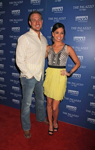 Melissa Rycroft and Tye Strickland Host a Party