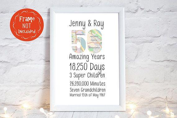 Golden Wedding Anniversary Gift Ideas For Parents: 17 Best Ideas About 50th Wedding Anniversary Gift On