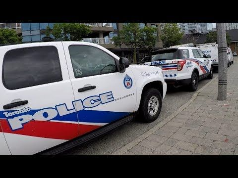UNDERCOVER PEPSI Leads Increased Security Forces in Toronto on CANADA DA...