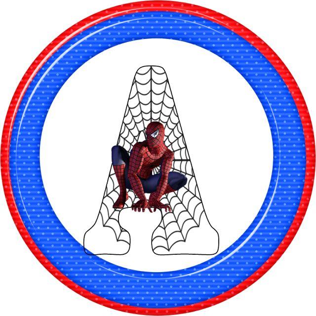 Alfabeto de Spiderman.