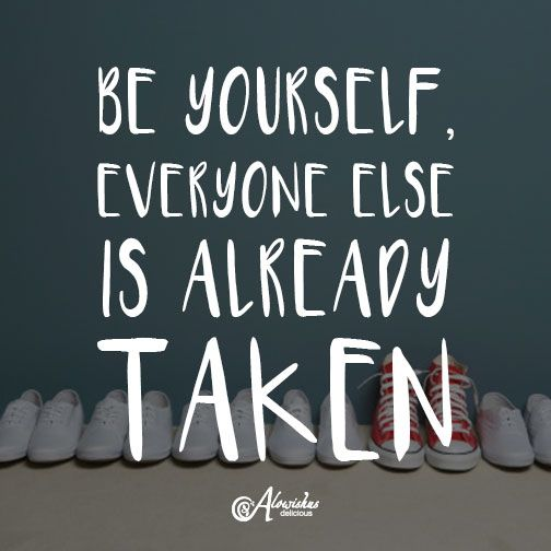 Just be yourself! #mondaymotivation #motivation #quote #inspiration #beyourself #cafe #bundaberg #alowishus