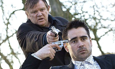 "Martin McDonagh's ""In Bruges"" - Brendan Gleeson and Colin Farrell as ""Ken"" and ""Ray""."
