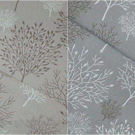 Декор брест-2 деревья фон серый, фото 1