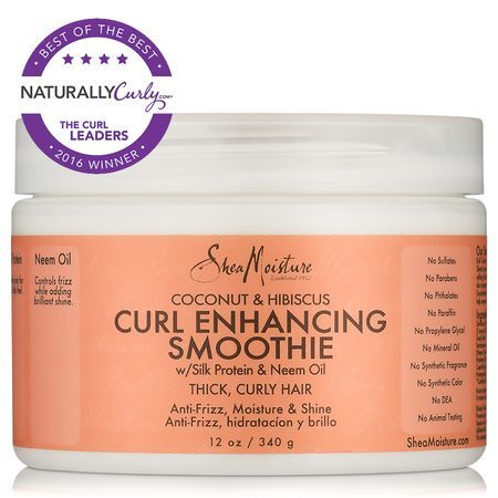 Shop the best hair care products, including SheaMoisture Coconut & Hibiscus Curl Enhancing Smoothie (12 oz.) and others at Shop.NaturallyCurly.com. #haircareshop,