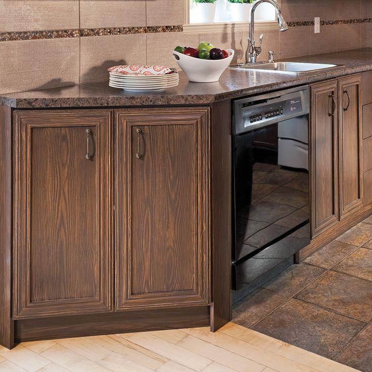 Réaliser un faux-fini bois sur une armoire de mélamine - En étapes - Décoration et rénovation - Pratico Pratique