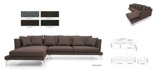 Размер (Ш*В*Г): 294*74*174 Широкий и глубокий, крайне эргономичный диван Apollo отвечает всем современным требованиям к мебели: элегантный дизайн, анти-статичная ткань обивки и абсолютный комфорт, благодаря дополнительным мягким подушкам, позволят Вам и Вашим посетителям провести в нем весь вечер расслаблено и с удовольствием. Изящные хромированные ножки делают силуэт дивана легким и изящным. Просто выберите подходящий цвет обивочной ткани, и он займет достойное место в Вашем интерьере…