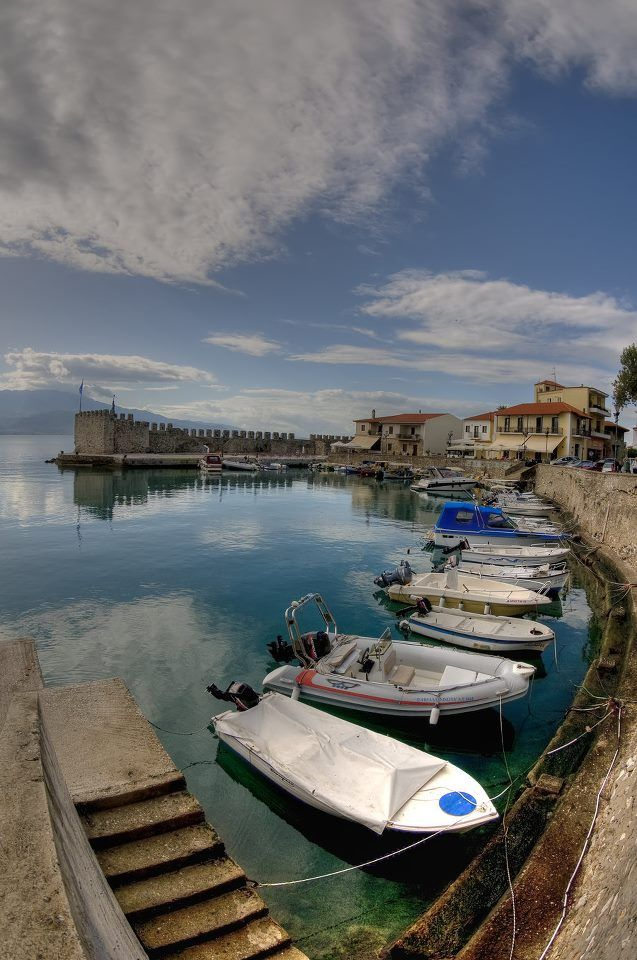 TRAVEL'IN GREECE | Nafpaktos, #Central_Greece, #Greece, #travelingreece