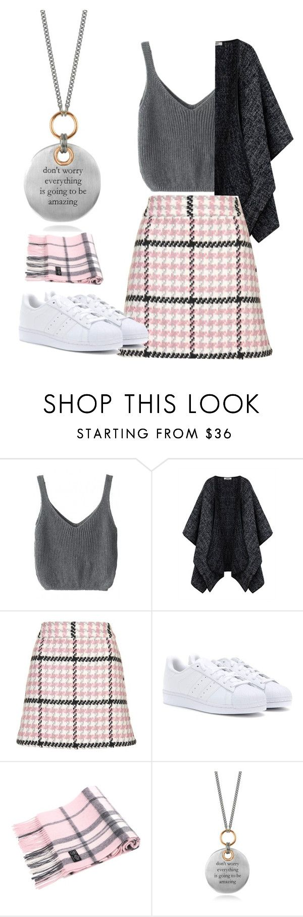 """Untitled #365"" by sirps on Polyvore featuring Topshop, adidas and Bjørg"