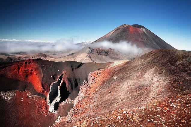 Tonariro Vulkan in Neuseeland Mordor und der Schicksalsberg: Mehr zu den Drehorten von Herr der Ringe erfahrt ihr in unserem Blog: http://www.neuseeland-special-tours.de/drehorte-herr-der-ringe/