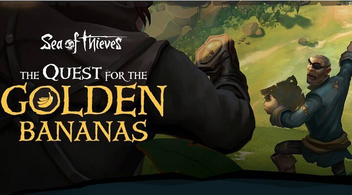 Sea of Thieves için altın muz etkinliği geliyor Muzlar