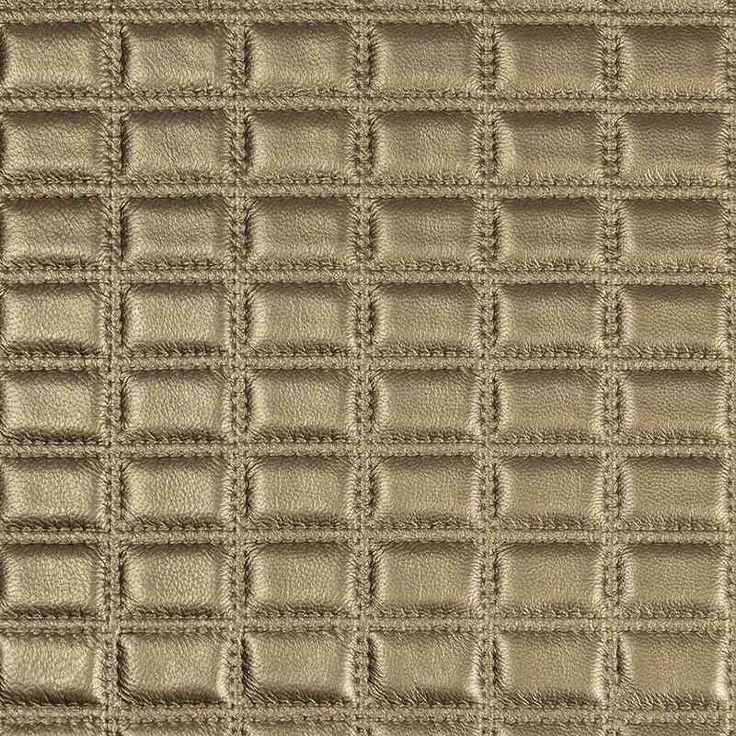 Warwick Fabrics : LUSTRELL GRID, Colour GOLD