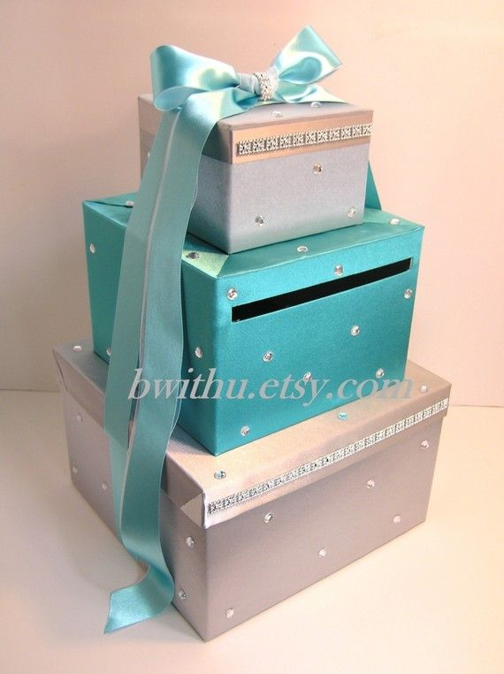 Wedding Card Box Gift Card Box Money Box by bwithustudio on Etsy, $89.00