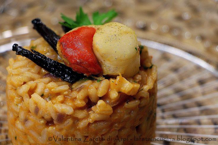 La ricetta per un risotto un po' diverso dal solito con capesante e vaniglia