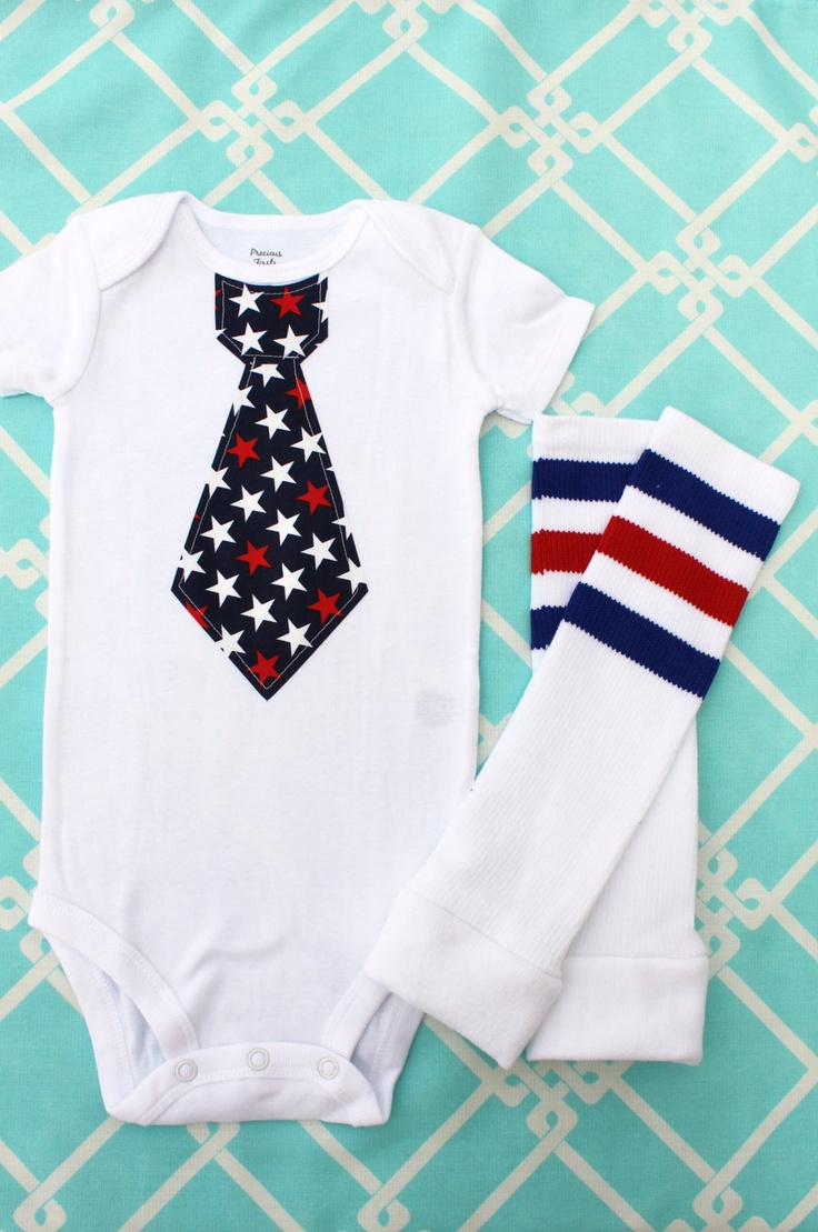 fourth of july baby leg warmers