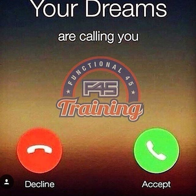 #f45training #f45southvalley #hiittraining #hiitworkout #hiitcardio #hiit #yourdreams #missedcall #dreams