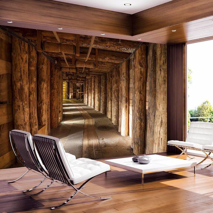 ber ideen zu fototapete holz auf pinterest. Black Bedroom Furniture Sets. Home Design Ideas