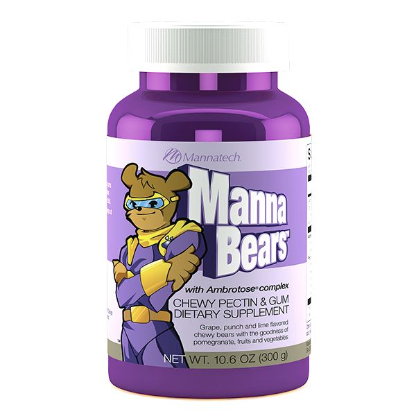 MannaBears™ - The sweetest way to provide your kids with antioxidant protection