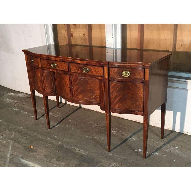 E. J. Victor Mahogany Sideboard - 70W × 24D × 40H. $1550 retail