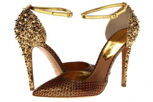 dsquared-gold-wedding-shoes-design-ideas