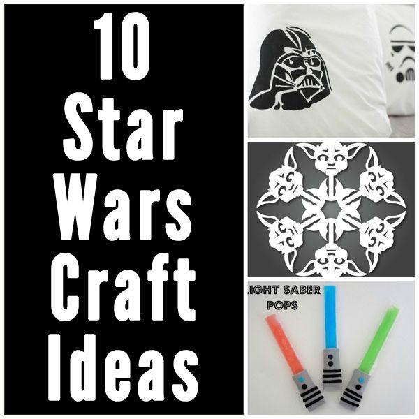 218 best star wars images on pinterest star wars birthday star 10 star wars craft ideas great for a teentween craft night solutioingenieria Images