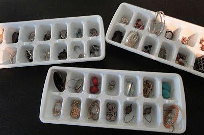 Organizing earrings!
