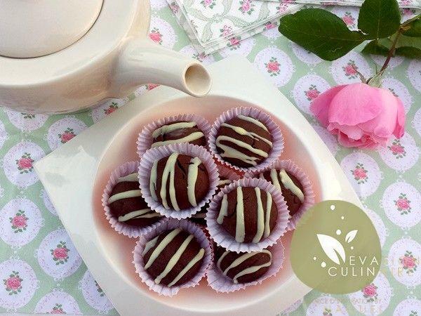 Gateau au flan en poudre au chocolat #gateaualgerien #aid #cookies #chocolate