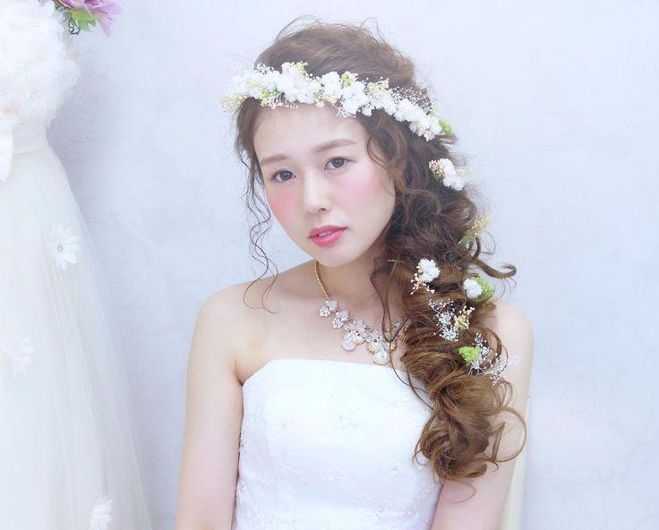 花冠は斜め掛けが可愛い | marry[マリー]