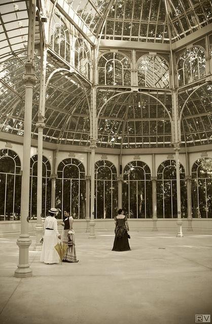 Inauguración a Palacio de Cristal. 187...?