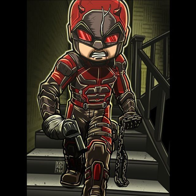 Daredevil by Lord Mesa