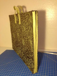The Sewing Lab: Tutorial: Art Portfolio Case