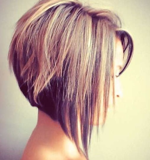 Love this A line bob cut