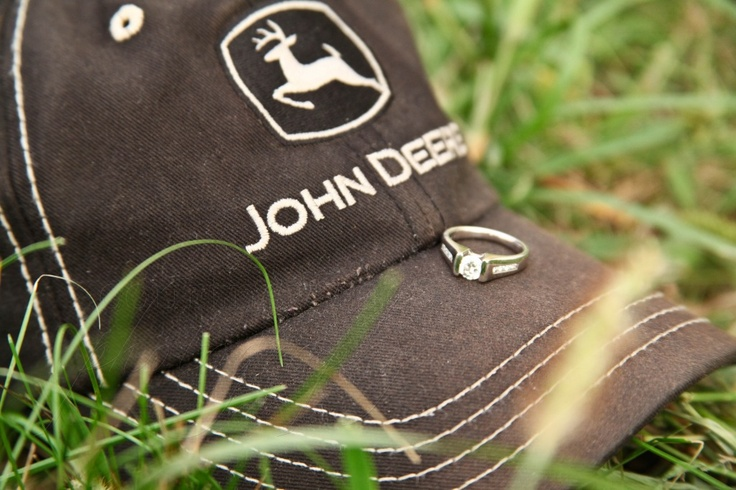 Love this ring shot! Especially with the John Deere. =)