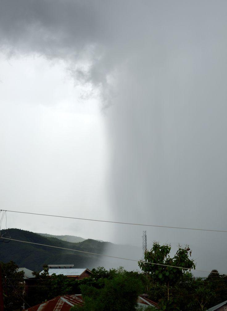 #Shower @ Lamka #Manipur