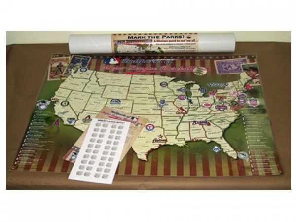 Map Your Travels Travel Baseball And Maps
