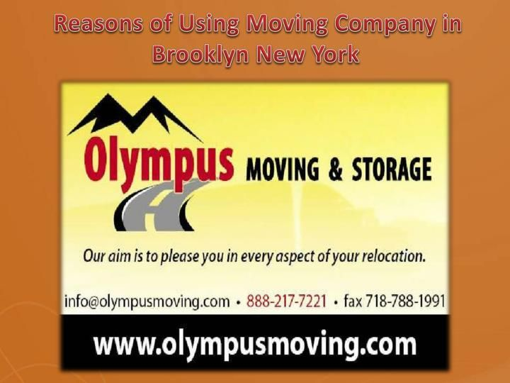 Looking for professional moving companies in Brooklyn, NY? Olympus Moving and…