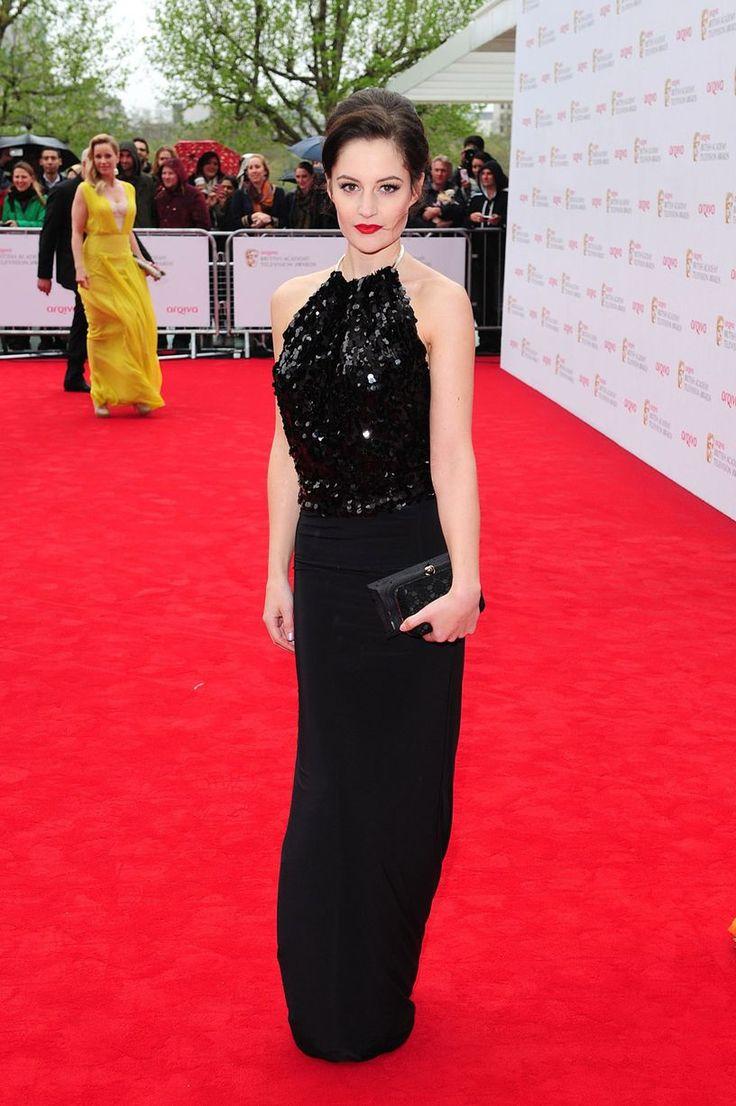 PAULA LANE-BAFTAS 2013