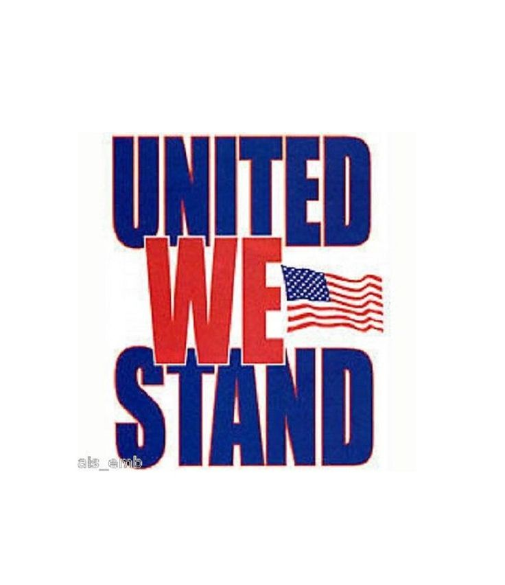 Patriotic T SHIRT, United We Stand Flag T SHIRT, Patriotic Sweatshirt, Patriotic Fabric Block, Patriotic Tote Bag, Patriotic Apron,  024d by AlwaysInStitchesCo on Etsy