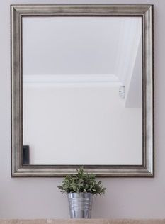 Silver Framed Bathroom Mirrors 12 best silver frames for mirrors images on pinterest | silver