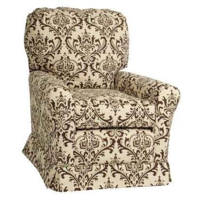 Upholstered Glider: Linens Bordeaux, Castles Custom, Castles Linens, Bordeaux Swivel, Castles Crowns, Custom Upholstered, Swivel Gliders, Upholstered Crowns, Crowns Linens
