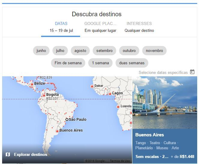 Google Voos pesquisa de passagens Aéreas | Viagem e Cultura