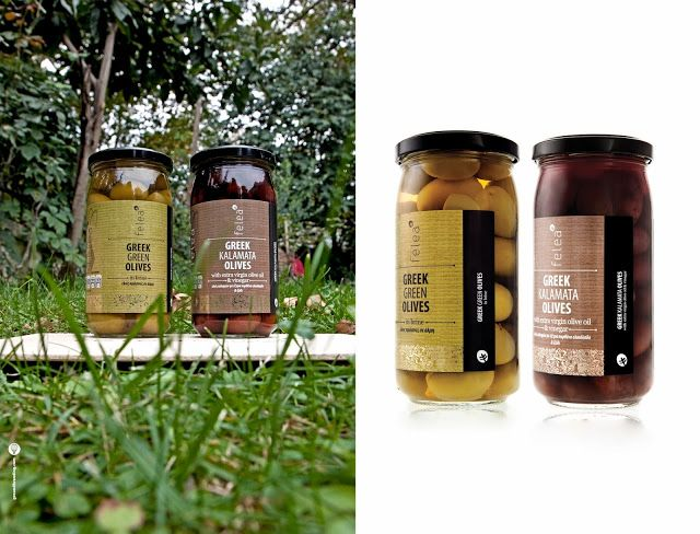 Felea Olives in Packaging of the World! We are so proud!! Design by Ground branding agency | Photos by Haris Farsarakis