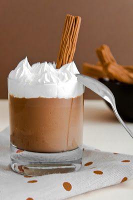 Little Dues: Recetas y Comidas - Copa de chocolate casera